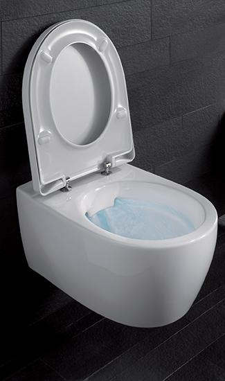 Spülrandlose WCs